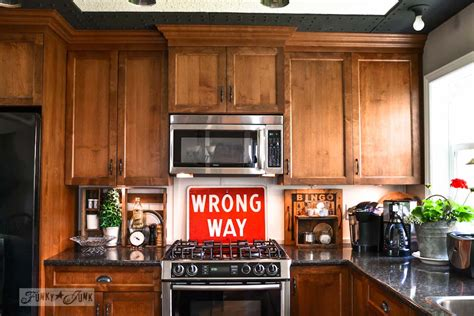 Junkers Unite With Junky Kitchen Cabinets, A Pin Board And