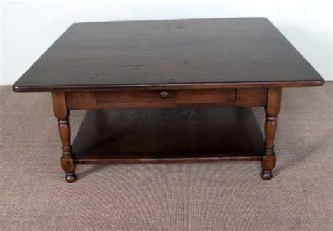 square farmhouse coffee table square oak farmhouse coffee table ecustomfinishes