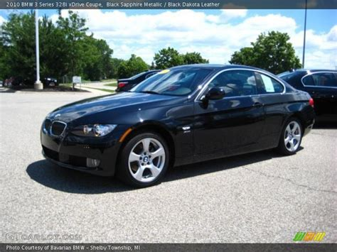 2010 Bmw 328i Coupe by 2010 Bmw 3 Series 328i Xdrive Coupe In Black Sapphire