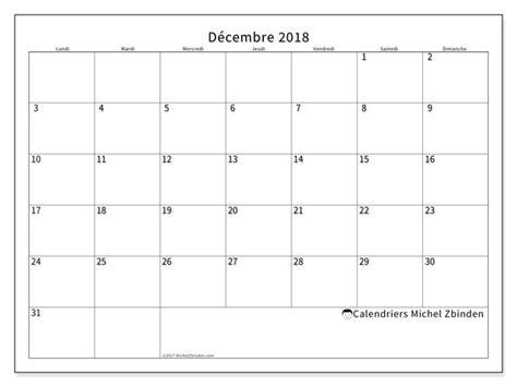 bureau plus ca calendriers décembre 2018 ld