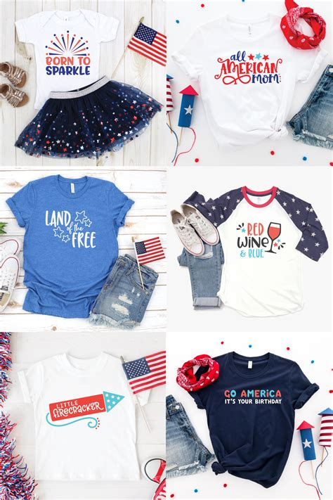 Create your diy shirts, decals, and much more using your cricut explore, silhouette and other cutting machines. Big Fourth of July SVG Bundle for Cricut + Silhouette