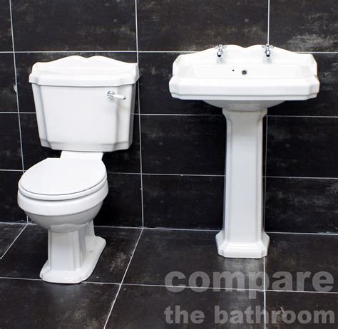 Legend Traditional Victorian Style Toilet & Basin Bathroom