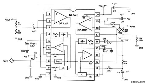 Low Voltage Compandor Amplifier Circuit