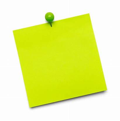 Note Sticky Paper Tac Isolated Copy Space