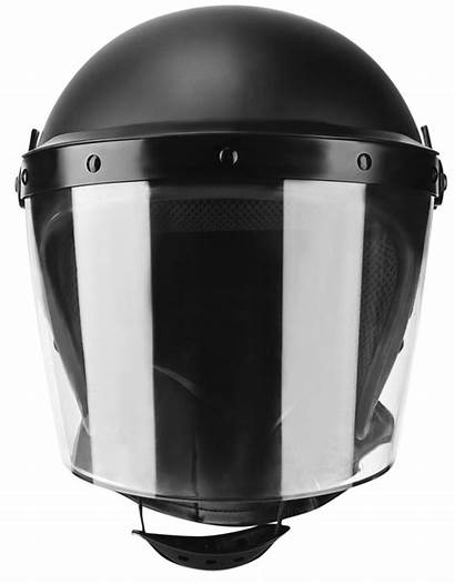 Riot Helmet Visor Antifog 5mm Standard Varanus