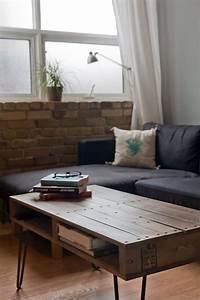 Table Basse Palettes : transformer une table basse vu76 jornalagora ~ Melissatoandfro.com Idées de Décoration