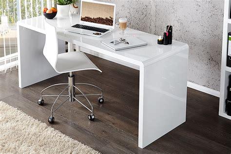 bureau blanc bureau design elegance blanc laque xl