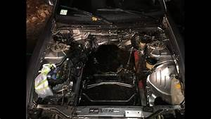 Project 240sx Engine Bay Cleaning  Battery Tray Removal