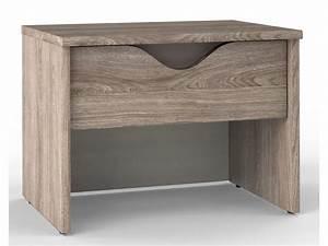 Casa Table De Chevet : chevet 1 tiroir vision coloris ch ne li ge vente de chevet conforama ~ Teatrodelosmanantiales.com Idées de Décoration