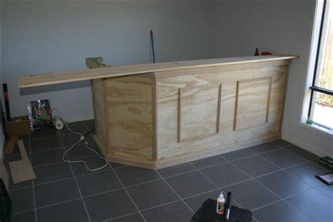 construire un bar de cuisine fabriquer une cuisine en bois comment fabriquer un