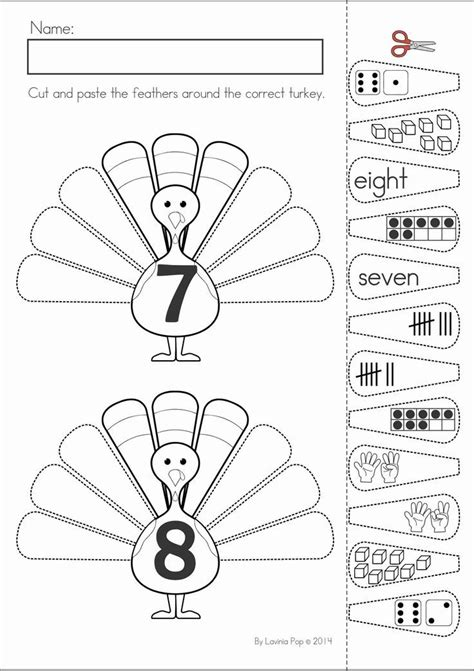 thanksgiving math literacy worksheets and activities