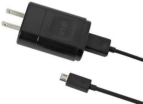lg mcs 02w sgdy0017903 travel charger with micro usb data cable original oem non retail