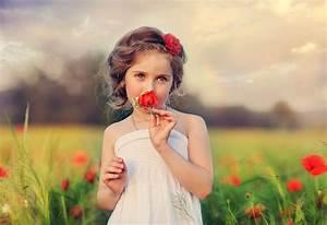 Image D Enfant : fond d 39 cran enfants et fleurs maximumwall ~ Dallasstarsshop.com Idées de Décoration