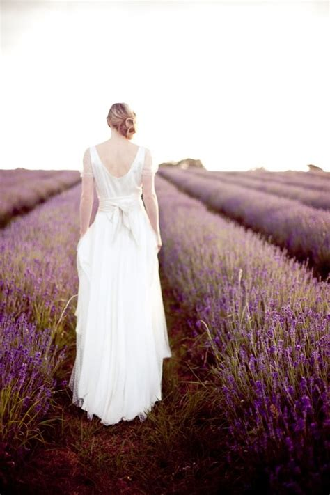 Mayfield Lavender Bridal Inspiration Field Wedding