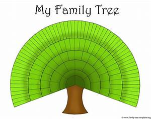 Blank Family Trees Templates and Free Genealogy Graphics ...