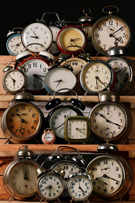 collecting vintage dishfunctional designs collecting displaying collections of clocks