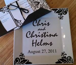 custom quotwedding invitation platequot silhouette cameo With wedding invitations using silhouette cameo