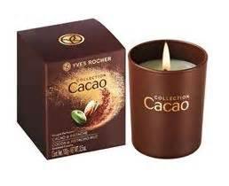 bougie yves rocher bougie parfum 233 e cacao pistache yves rocher beaut 233 test
