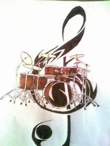 drum tattoo by samm-xox on DeviantArt