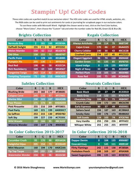rgb color codes rgb hex color codes 2016 2017 pdf products i