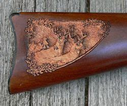 gunstock carving patterns  patterns wood carving