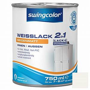 Swing Color Farben : swingcolor 2in1 wei lack wei 750 ml seidenmatt bauhaus ~ A.2002-acura-tl-radio.info Haus und Dekorationen