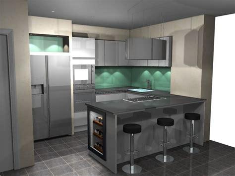 plans cuisine ouverte plan de cuisine ouverte cuisine plan cuisine