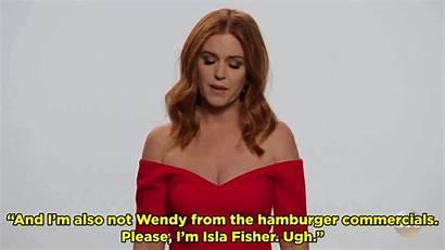 Fisher Isla Amy Adams Confusing Everyone Message