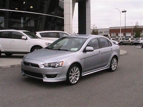 Mitsubishi Lancer 2009 Gts by 2009 Mitsubishi Lancer Gts Gatineau Used Car For