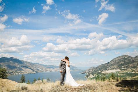 Cody & Jen Okanagan Falls Lakefront Backyard Wedding