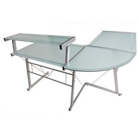 bureau angle en verre bureau angle verre comparer 148 offres