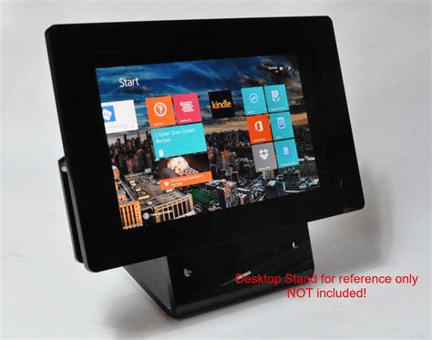 Dell Venue 8 Pro Black Acrylic Security Vesa Kit For Kiosk