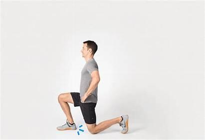 Lunge Perfect Forward Alternative Hip Stand Feet