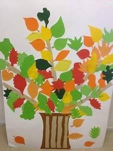 Bricolage Automne Primaire : un arbre d 39 automne avec des feuilles de papier de couleurs arbre automne feuilles couleurs ~ Dode.kayakingforconservation.com Idées de Décoration