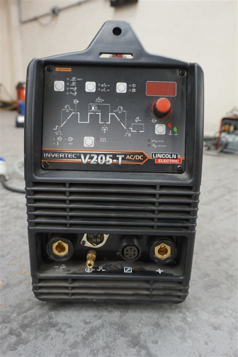 invertec v205 t ac dc lincoln electric tig welder