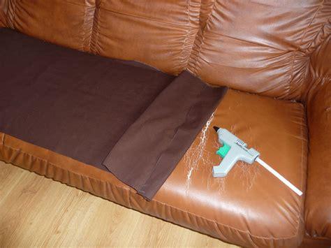 reparer cuir canapé comment reparer un canape