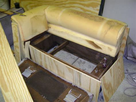 How To Build A Boat Seat Box by Boat Gallery Bill Eason Upholstery