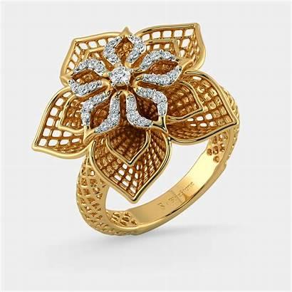 Jewellery Ring Gold Diamond Rings Bluestone Daffodil