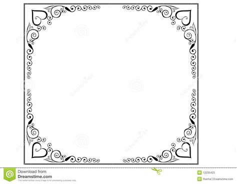 frame  borders page decoration stock  image