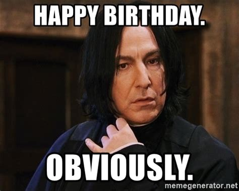 Harry Potter Birthday Memes - funny for happy birthday meme funny harry potter www funnyton com
