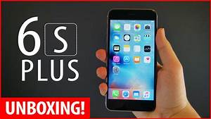 iPhone 6s Plus Unboxing! (New iPhone 6s Plus Space Grey ...