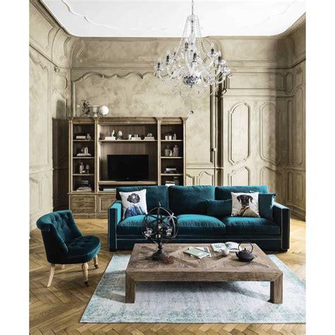 la maison du canapé 17 meilleures idées à propos de velours bleu sur