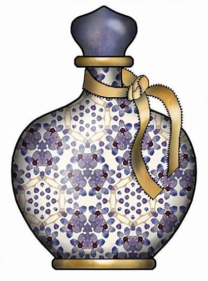 Perfume Bottles Clip Clipart Mason Bottle Jars