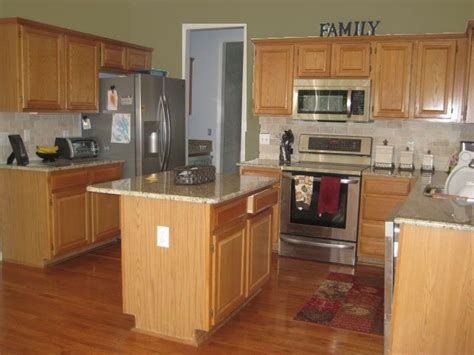 green kitchen current help kitchen paint colors with oak cabinets home decorating design