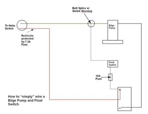rule bilge pump float switch wiring diagram rule 3 way bilge with bilge pump wiring diagram