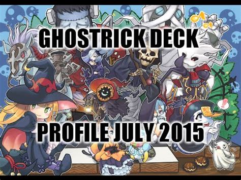 Ghostrick Deck July 2017 by Ghostrick Deck Profile July 2015