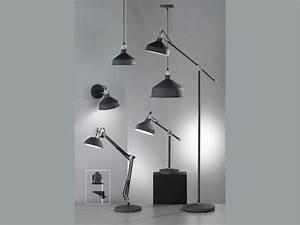 Stehlampe Retro Design : design stehlampe led schwarz retro stil leselampe stehleuchte wohnzimmer b ro ebay ~ Bigdaddyawards.com Haus und Dekorationen
