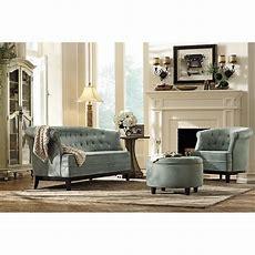 Home Decorators Collection Emma Sea Green Velvet Sofa