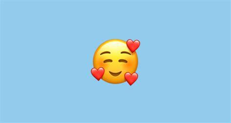smiling face   hearts emoji