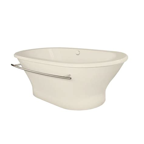 Biscuit Tub by Hydro Systems Arlington 5 8 Ft Freestanding Air Bath Tub